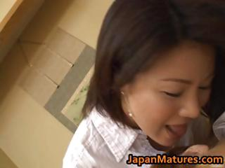horny japanese grown-up babes sucking part2