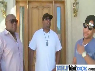 sweet woman obtain gang-banged by dark dick vid-10