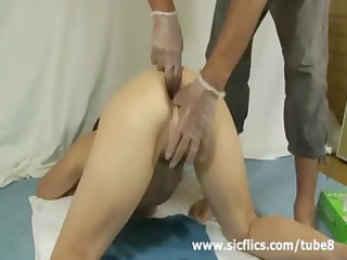 brutally anal fisted and bottle fucked shameless