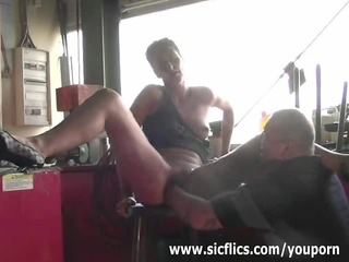 bitch maiden brutally finger fucked till she