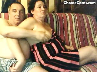 horny grandma and grandpa have fun