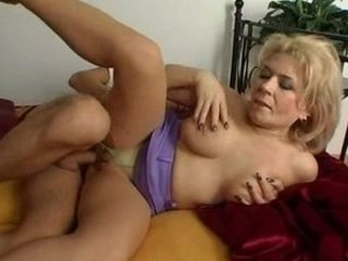 older blonde euro cougar
