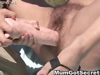 slutty lady obtains her bushy muf drilled part2