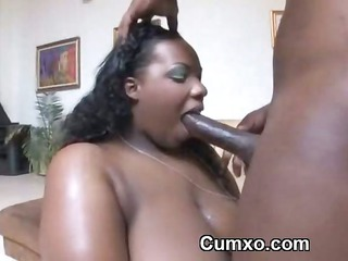 bbw heavy afro arse ass slut drilled