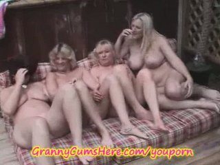 4 dike grannies into outdoor