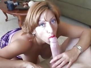 cougar slut obtains a physiognomy load of white