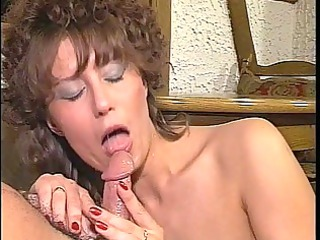 cougar chick bitch licks and copulates openair