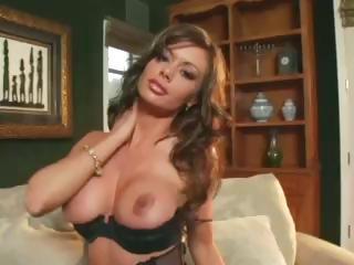 busty mature babe enjoys inside stockings a