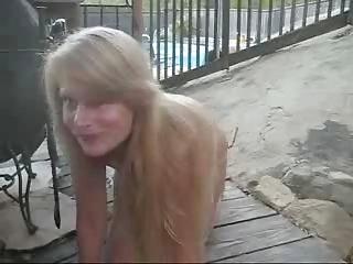nudist woman bridgit, fuck into outdoor