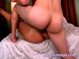 butt pierced divorcee older misty