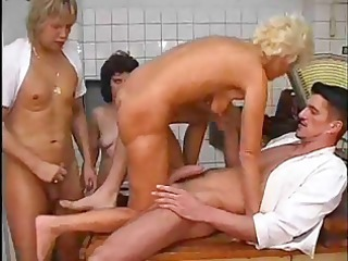 two awesome sluts and two amateur studs do some