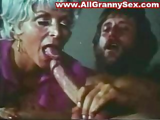 retro granny drilling
