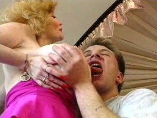 extremely impressive german horny albino granny