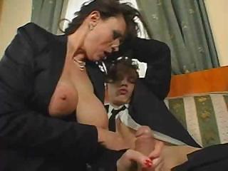 cougar busty secretary sex