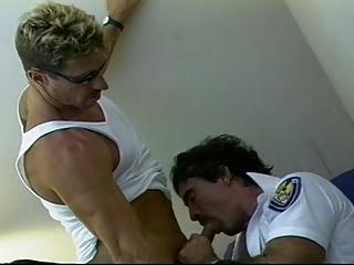 cops pleasure inside uniform