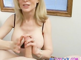 hot albino older babe with an apetite for cocks