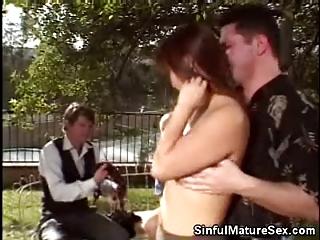 cougar asian babe dick sucking