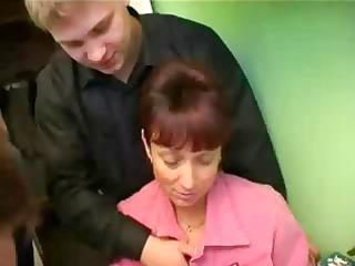 russian grown-up lady bang 3 penises