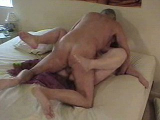 grown-up pair classic bang on bed