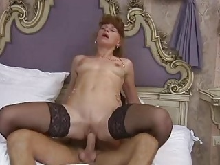 ginger german milf assfuck