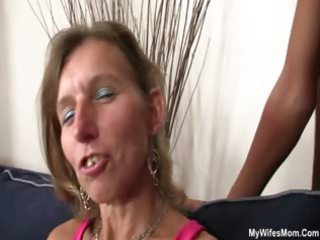 he gangbangs mother in law and maiden watches it