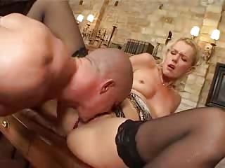 german mature babe fucked anal