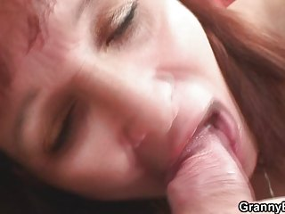 cougar ginger banging with young