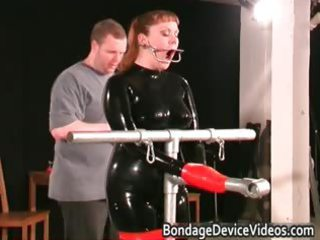 rooty babe acquires tied and bitch inspected part6
