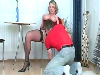 slutty albino angel with pure giant chest blows