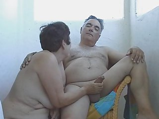 my woman is sucking my cock on holidays
