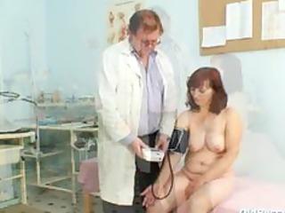 zita older angel gyno speculum exam at clinic