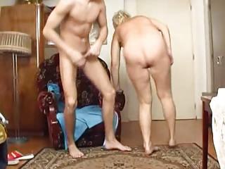 granny copulates the boy