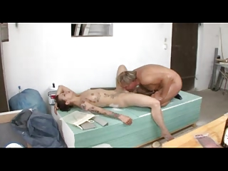 german woman catches hubby