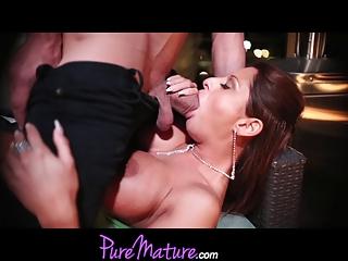 puremature seductive lady alison star takes
