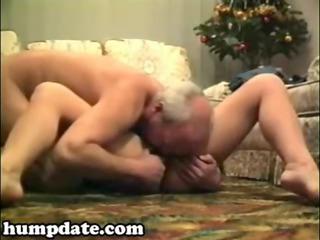 slutty cougar angel licks and rides dick