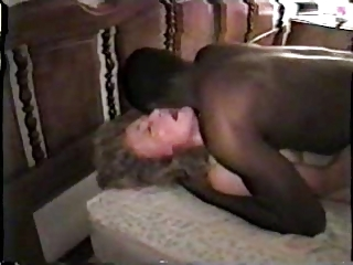 nympho cougar colorless wife with ebony friend