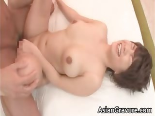 busty eastern milf gets facial after part6