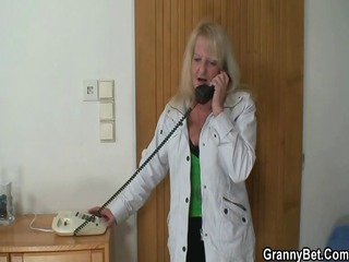 solitary old widow acquires big cock
