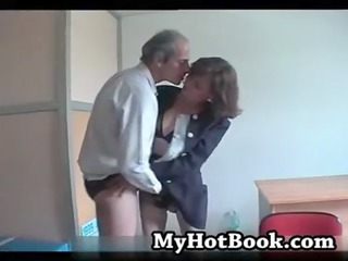 french elderly married duo audition on camera