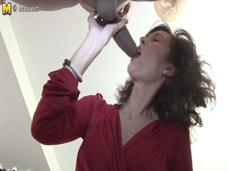 sweet italian girl enjoys her toyboy s giant penis