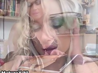 charming albino woman with desperate gstring part1