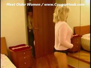 amateur mature cougar girl fucks with