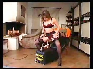 cougar and her loving chair