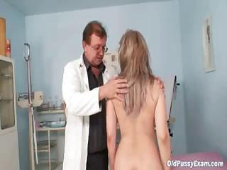 cougar alena gyno kitty real clinic examination