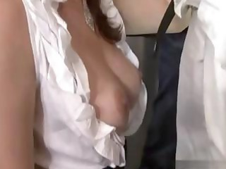 boyfriend indulges his housewife and lets her