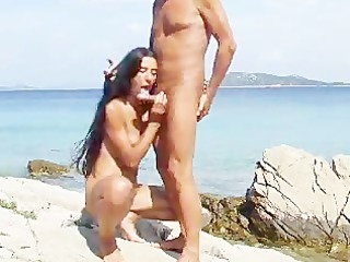 fellatio on the rocks