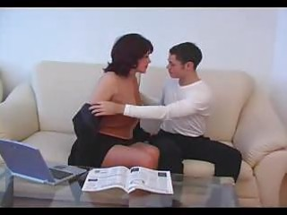mature milf gangbanged by young male amateur