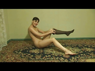 swinger housewife getting nude herself