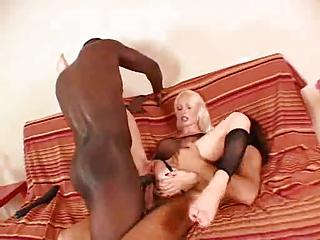 blonde maiden stretched before wedding