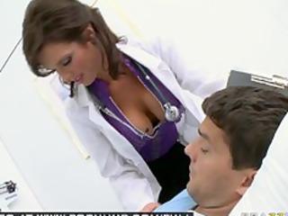 giant tit brunette babe adult movie star doctor